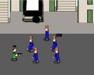 Boxhead online lövöldözős játék