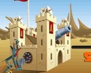 Castle cannon online lövöldözős játék